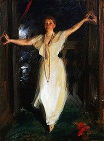 ZORN, Anders Isabella Stewart Gardner in Venice 1894