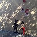 """Hammer Boy"" Banksy in Upper West Side October 2013.jpg"