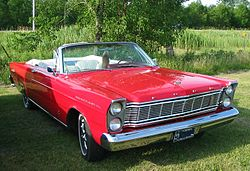 Ford Galaxie 500 XL Sunliner (1965)