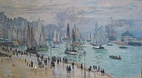 'Le Havre, Bâteaux de Peche Sortant du Port' by Claude Monet, 1874.JPG