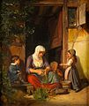 'Mother with her Children' by Peter Schwingen.jpg