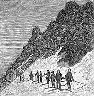 'Quarantième ascension française au mont Blanc' by Edmond Yon 11.jpg