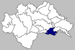 Image of Hrvatska Dubica municipality within the Sisak-Moslavina County