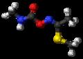 (Z)-Methomyl molecule ball.png