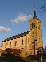 The church in Bambiderstroff