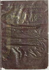 St. Riquier Gospels