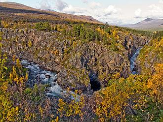 Øvre Dividal National Park - Image: Övre dividal anjajohka