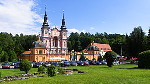 Masuria - The sanctuary of St. Mary in Święta Lipka was consecrated by Jesuits in 1619. It was once the site of the apparitions and miracles