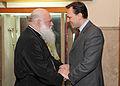 Συνάντηση ΥΠΕΞ κ. Δρούτσα με το Mακαριώτατο Αρχιεπίσκοπο Αθηνών και Πάσης Ελλάδος κ. Ιερώνυμο. (5372900589).jpg