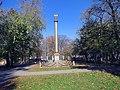 Александрийская колонна осенью.JPG