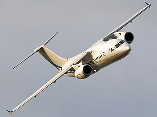 Antonov An-148 Regional jet designed and built by Antonov