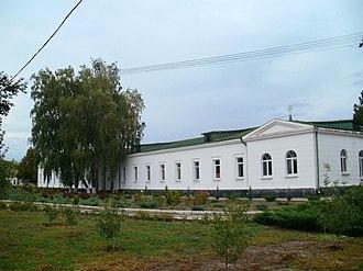 Novomoskovsk, Ukraine - Image: Братські й настоятельські келії