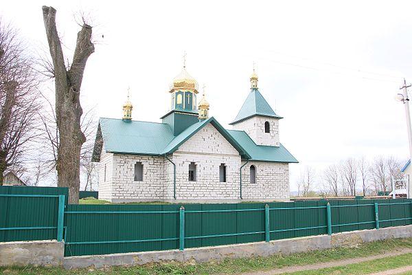 Дерев'яна церква Куликів