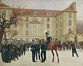 И. С. Розен. Гвардейский экипаж в Париже. 1814 год. (1911).jpg