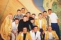 Команды КВН «Три толстяка» и «Сибирские сибиряки» на фестивале «Голосящий КиВиН — 2000».jpg