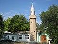 Мінарет центральної міської мечеті Білогірська.JPG