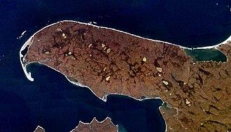 Mikhailov Peninsula - NASA picture of the Mikhailov Peninsula.