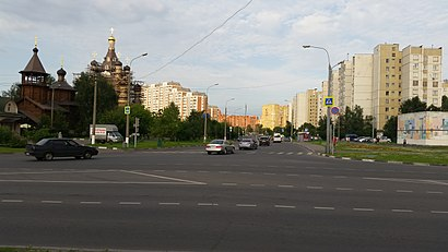 How to get to Саранская Улица with public transit - About the place