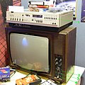 Советский телевизор и советский видеомагнитофон.JPG