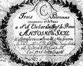 Тытульны аркуш рукапісу паланэзаў Мацея Радзівіла. 1788 г..png