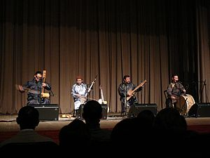 Huun-Huur-Tu - Performance in Tyumen, 28th october 2012