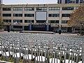 הכנות לטקס יום הזיכרון לחללי צבא הגנה לישראל ולנפגעי פעולות האיבה 2018 בגימנסיה העברית הרצליה.jpg