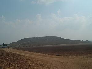 Hanaton - General view of Tel Hanaton