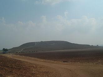 Tel Hanaton - General view of Tel Hanaton