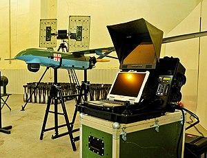 Georgian UAV - Image: უპილოტო საჰაერო სისტემა 08