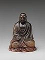 犀角達摩像-Buddhist monk Bodhidharma (Chinese- Damo) MET DP253234.jpg