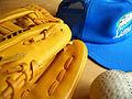 軟球 グローブ 野球帽 (25389849).jpg