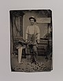 -Carpenter or Cabinetmaker Standing Before a Sign Advertising His Trade- MET DP700464.jpg