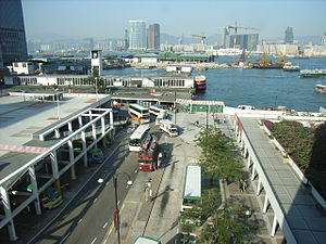 Central and Western Heritage Trail - Image: HK City Hall Sea View 51217 3
