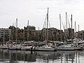 015 Port Vell, al fons la Barceloneta.JPG