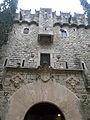 023 Castell de Santa Florentina (Canet de Mar), façana sud, portal.JPG