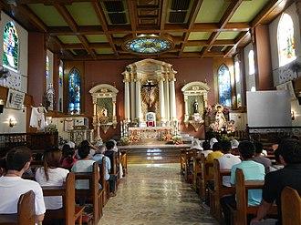 Roman Catholic Diocese of Cabanatuan - Image: 0304jf Saint Nicholas of Tolentino Cathedralfvf 08
