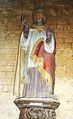 038 Daoulas, église paroissiale, statue de saint Clair.jpg