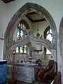 052 Stoke Rochford Ss Andrew & Mary, interior - south chapel east bay ogee arch.jpg