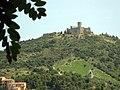 058 El fort de Sant Elm i el Molí, des del Mirador.jpg