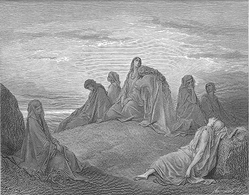059.Israelite Women Mourn with Jephthah's Daughter