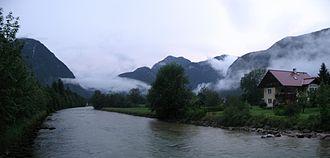 Traun (river) - Traun River near Obertraun