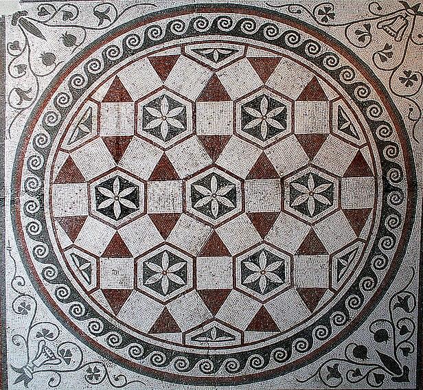 File:0 Mosaïque de sol géometrique - Pal. Massimo - Rome.JPG