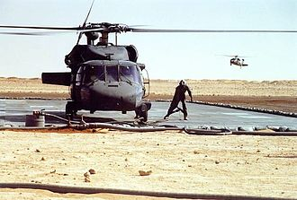 159th Combat Aviation Brigade - 101st FARP in the Gulf War