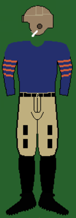 1913 Auburn Tigers football team - Image: 10sauburnuniform