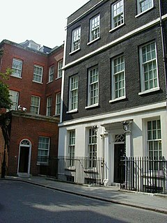 Grade I listed house in City of Westminster, United Kingdom