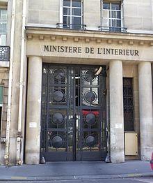 Rue des saussaies wikip dia for Adresse ministere de l interieur