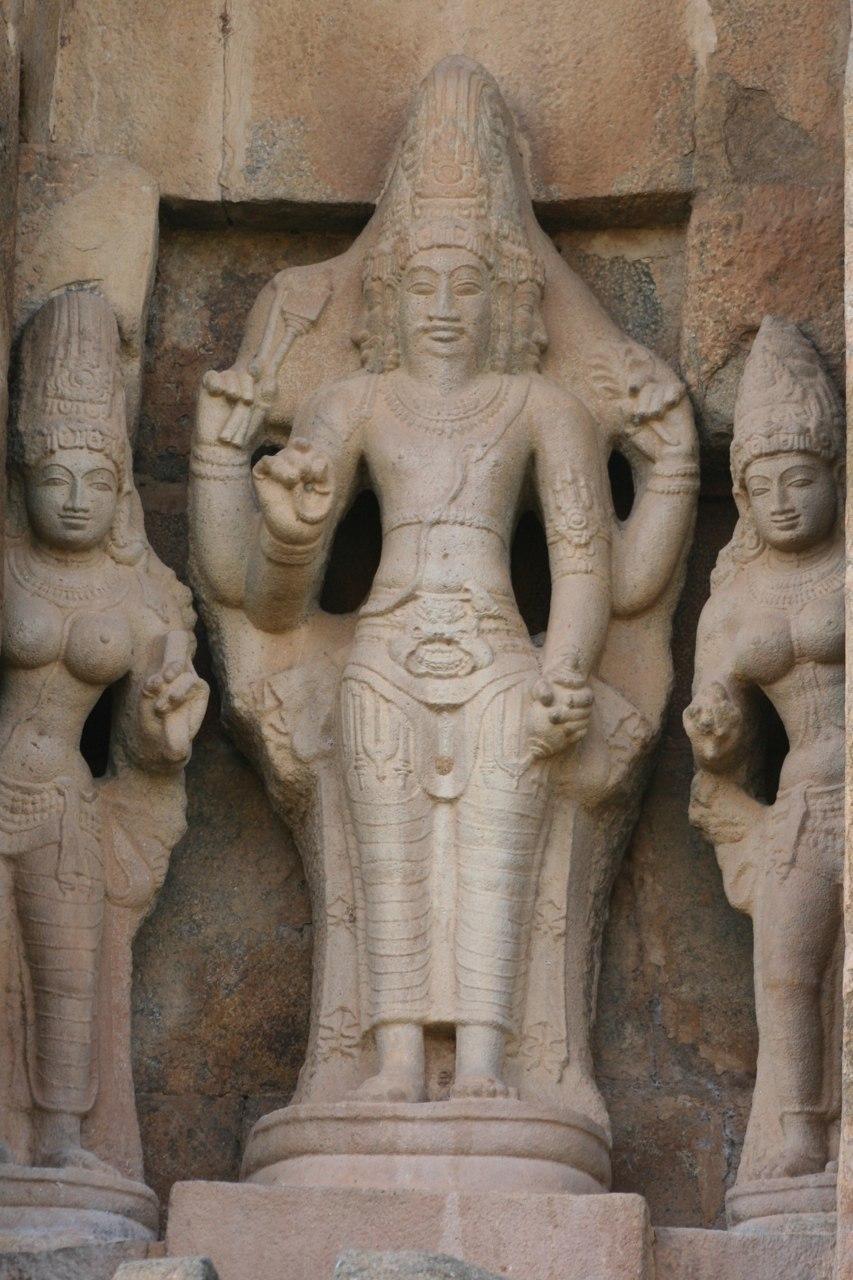 11th century Brahma at Gangaikonda Cholapuram Shiva temple