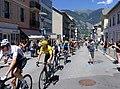 12ème étape Tour de France 2018 (Maillot jaune à St-Jean-de-Maurienne).JPG