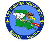 122d Fighter-Interceptor Squadron - Emblem