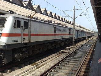 Howrah Rajdhani Express - 12302 Howrah Rajdhani Express at Howrah Junction